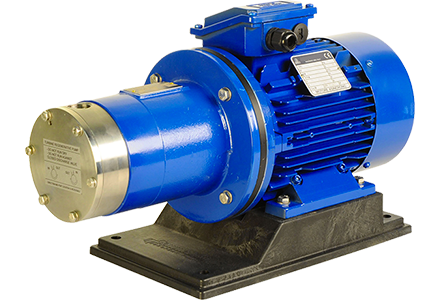Magnetic drive turbine pumps